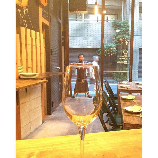 コップのフチ夫さん#naturalwine #自然派ワイン - from Instagram