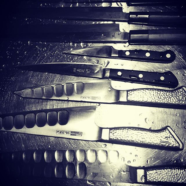 The beauties.#グレステン#japaneseknives#yoyogihachiman#kagoshima#sakurajima - from Instagram